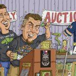 Bob & Brian raising money for the Reptile Nation!